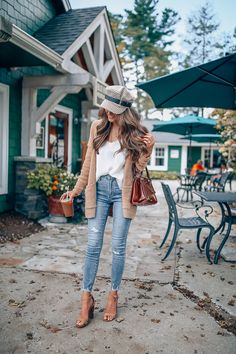 Top 10 Most Popular Fall Outfits – Southern Curls & Pearls Fall Outfits, Casual Outfits, Cute Outfits, Fashion Outfits, Cardigan Outfits, Women's Fashion, Lifestyle Fashion, Fashion Bloggers, Autumn Summer