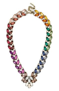 BaubleBar 'Garland Brooch' Collar Necklace available at #Nordstrom