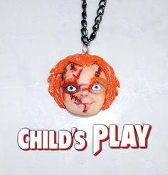Colgante Chucky  El muñeco diabólico  Accesorio origina