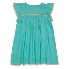 Catherine Baby Dress - Turquoise - Dresses - Babies-ilovegorgeous ss13