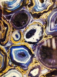 Fireclay Tile, Agate, Blue, Agates