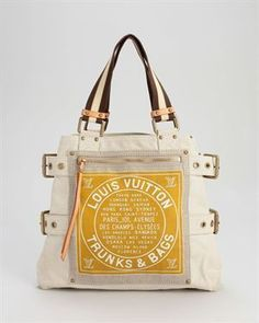 Product Name Louis Vuitton LNIB Canvas Globe Shopper Cabas Tote, 7/10 Condition at Modnique.com