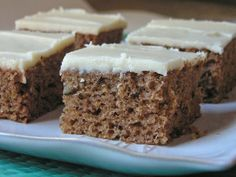Zucchini Spice Cake with Browned Butter Frosting ~ Butter, with a Side of Bread #recipe