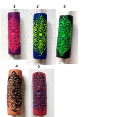 elegir color: tubo de pavor del grano mandala por seididread