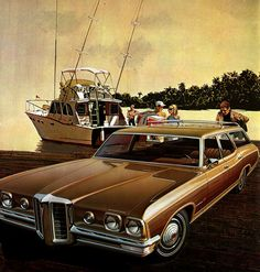 1970 Pontiac Bonneville 3-Seat Station Wagon: Art Fitzpatrick and Van Kaufman