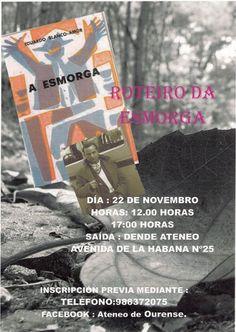Roteiro da Esmorga @ Saida dende o Ateneo - Ourense paseo Eduardo Blanco Amor