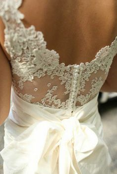 Wedding Dress Love The Lace Top With A Silk Or Satin Bottom Would Like