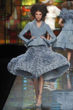 Christian Dior Spring 2009 Couture Fashion Show - Alexandra Tomlinson (NATHALIE)