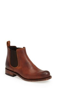 'Barret' Chelsea Boot (Women) by Sendra Boots on Chelsea Boots Outfit, Tan Chelsea Boots, Chelsea Boots Damen, Womens Chelsea Boots, Crazy Shoes, New Shoes, Shoe Boots, Ankle Boots, Man Boots