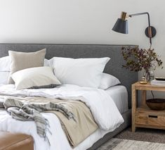 Neutral doesn't have to be boring! Using different layers and textures, you can create a calming neutral haven in your home that still stands out! Fall Bedroom, Bedroom Decor, Bedroom Inspo, Design Bedroom, Dream Bedroom, Bedroom Ideas, Neutral Bedrooms, Amber Interiors, Cozy Corner