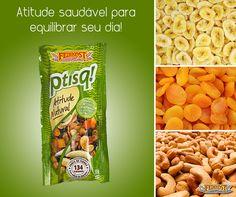 Ptisq! Atitude Natural. O petisco mais saudável com os melhores ingredientes. #Feinkost #AtitudeNatural