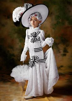Child's My Fair Lady Costume for the musical theater nerds
