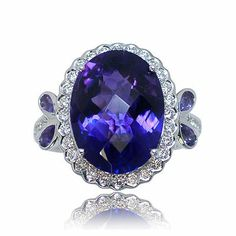 Here's the next spectacular color gemstone ring - Parris Jewelers