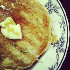 Chocolate Eggnog Baby Pancakes Recipe — Dishmaps