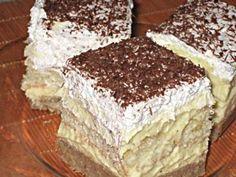 Gesztenyés-babapiskótás krémes mascapone instead of butter Hungarian Desserts, Hungarian Cake, Hungarian Recipes, Sweet Desserts, No Bake Desserts, Dessert Recipes, My Recipes, Holiday Recipes, Cookie Recipes