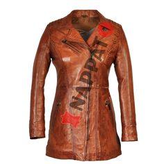 Leather Jacket Sofia Brandy