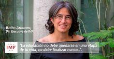 Tenemos el placer de entrevistar aBelén Arcones sobre formación y empleo, Directora Ejecutiva del Grupo IMFque dirige,junto aCarlosMartínez.