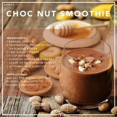 Nuts are packed with good fats and a wide range of essential nutrient, helping to keep you fuller for longer. Protein Shake Ingredients, Vegan Protein Powder, Natural Peanut Butter, Good Fats, Unsweetened Cocoa, Protein Shakes, Vegan Chocolate, Raw Vegan, Keto Recipes