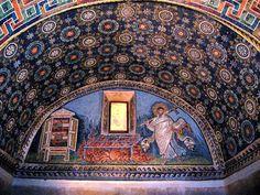Ravenna mosaics.  Done!  Must go back.