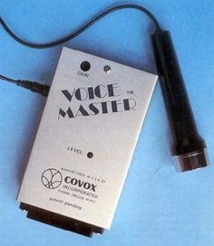 Voice Master: La grabadora de voz para Commodore 64 | Commodore Spain