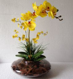orchideák: 4 thousand results found on Yandex. Ikebana Arrangements, Orchid Flower Arrangements, Orchid Centerpieces, Flower Vases, Indoor Orchids, Orchids Garden, Orchid Plants, Nylon Flowers, Faux Flowers