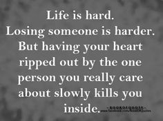 :(Stop being sad after such things... It just wastes your time ... Its not because I dont know but i am now knowing it...