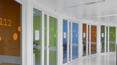 The ever-growing Gasthuisberg site of University Hospital Leuven has undergone a complete make over since its original build dating from the 70s. #healthcare #design #innovation
