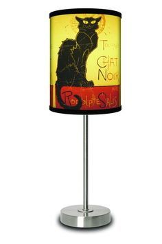 LAMP-IN-A-BOX Chat Noir Lamp.