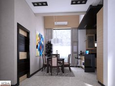 When an architect is allowed the freedom to create a space that he knows will work for this clients, that level of trust comes through in the final design. Home Design, Modern House Design, Modern Bungalow House, Modern House Plans, Modern Residential Architecture, Amazing Architecture, Philippines House Design, Philippine Houses, 2 Storey House Design