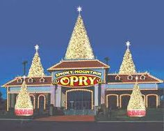 The Smoky Mountain Opry in Pigeon Forge, Tennessee. We went to the Christmas show. It was awesome!