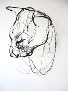 Wire Animal Sculptures Look Like Life-Size Scribbled Drawings Suspended in Mid-Air - My Modern Met