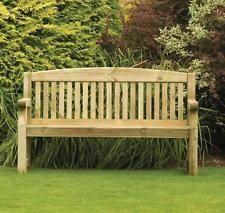 Wooden Garden Bench eBay