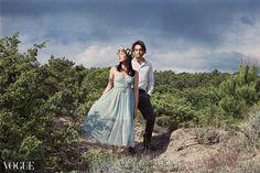 Featured on Photo Vogue Engagement by the beach © Memory Wedding Tuscany  #analog #engagement #vogue #filmphotography #weddingphotographer