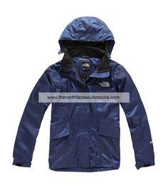 The North Face Women Gore Flight Jackets(Blue)