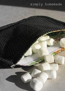 reusable snack bags tutorial