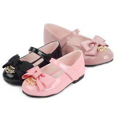 "Ozkiz Girls ""Romantic Crown"" Polyurethane Mary Jane Flats  #Kidsshoes"