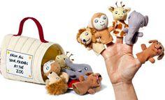 Queridos Zoo fantoches de dedo