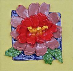 Artsonia Art Museum :: Artwork by Naya21, state flower tile