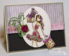 Posh has a Present by Stamper K - Cards and Paper Crafts at Splitcoaststampers