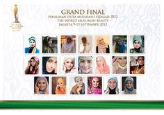 Miss Muslimah World BEAUTY 2012 Contestent