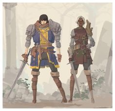 ELLIOT ALFREDIUS Drew some fan art of my Dark Souls 2 characters. I mainly wear stuff that I think looks good, regardless of defense. Can't stand heavy armors! Love the leather boots!