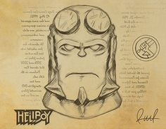 """Check out new work on my @Behance portfolio: """"Hellboy. Art Raul"""" http://be.net/gallery/37484617/Hellboy-Art-Raul"""
