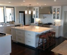 the remodeled kitchen of caytlin jenner