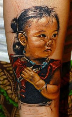 Realism Tattoo by Sergey Gas