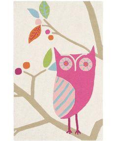 Dětský koberec Harlequin SOVIČKA pink