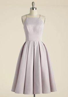 Beloved and Beyond Midi Dress in Lilac. In this gorgeous pale purple fit and flare by Chi Chi London, you prove that the most magnificent statement is sticking to the sweetest classics. Tea Length Bridesmaid Dresses, Cute Prom Dresses, Grad Dresses, Tea Length Dresses, Homecoming Dresses, Pretty Dresses, Casual Dresses, Fashion Dresses, School Dance Dresses