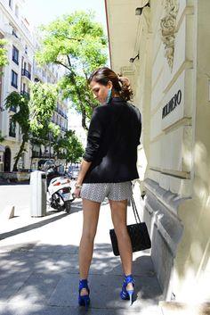 street style - look - outfit ideas - chanel - chanel bag - chanel 2.55 - summer look - black blazer - Rita Jones - The Highville  http://www.thehighville.com/blog/agnes-klein/#more-8064