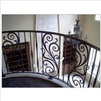 Interior iron stair railing - www.irondoor.cn
