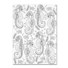 Trademark Art 'Animals 15' by Hello Angel Graphic Art on Wrapped Canvas Size: