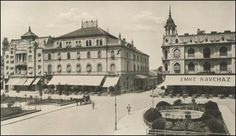 EMKE kávéház 1900 körül Rákóczi út Old Pictures, Old Photos, Budapest Hungary, Historical Photos, Emo, Taj Mahal, Louvre, Europe, History